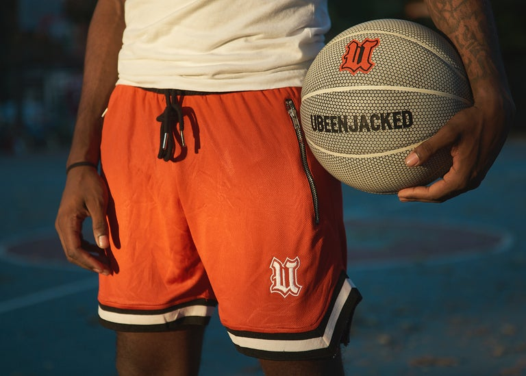 Red UBEENJACKED Shorts