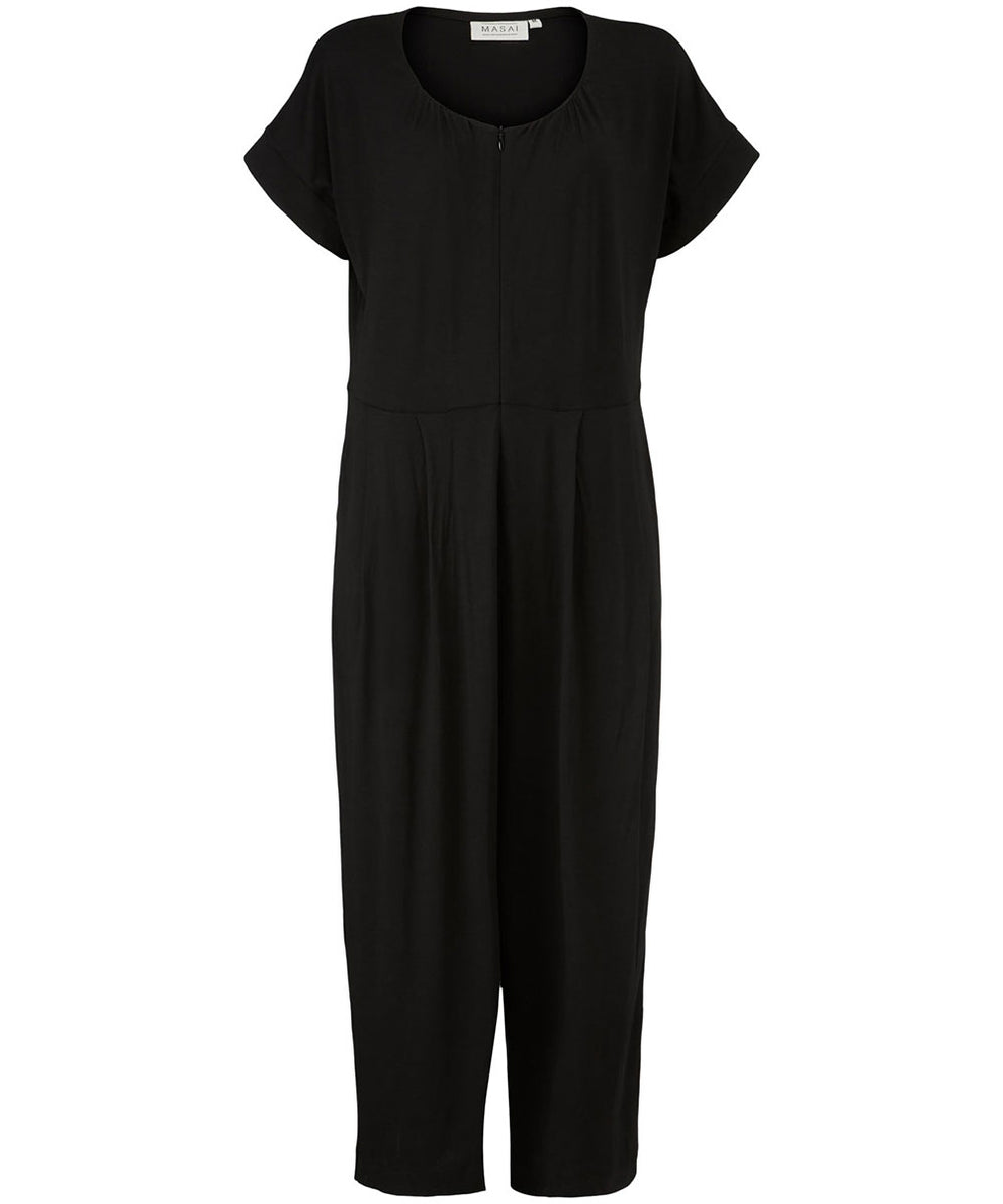 Netta Jumpsuit – Black Solid – Masai