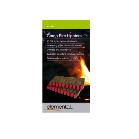 Companion Elemental Camp Fire Lighters