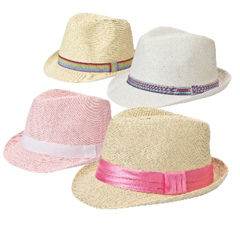 Kids Fedora Hats - Girls