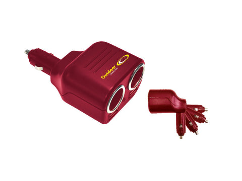 Outdoor Connection Double 12v & USB Outlet