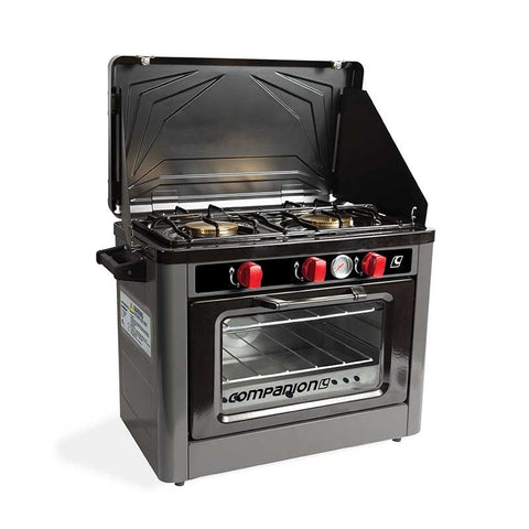 Companion Gas Oven and Cooktop
