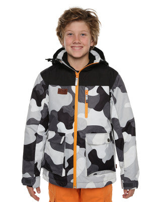 XTM Kamikaze Boys Camo Snow Jacket