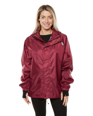 XTM Stash II Rain Jacket - Burgandy