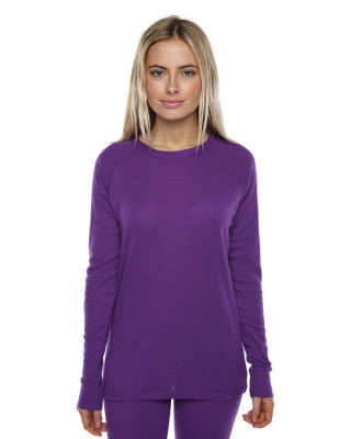 XTM Adults Polypro Thermals - Purple