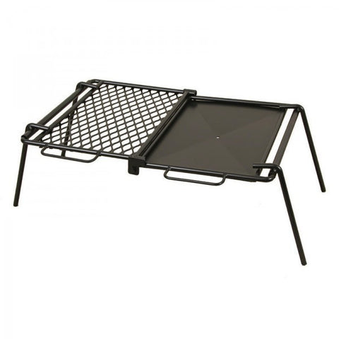 Camp Fire Foldable Plate & Grill