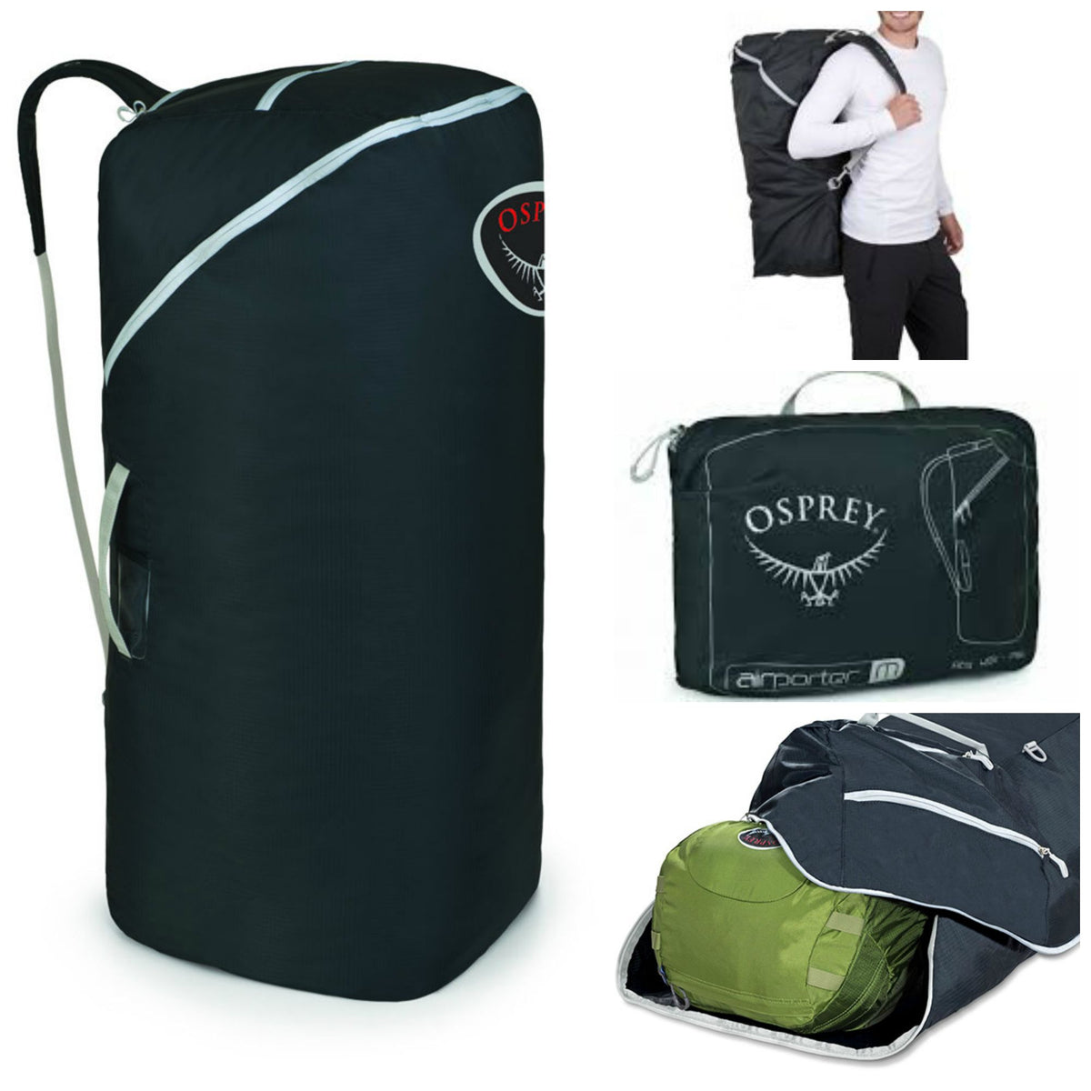 62a261d73d83 Osprey Airporter Lz Backpack Travel Cover Large
