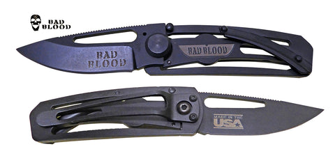 Bad Blood Small Folder Knife