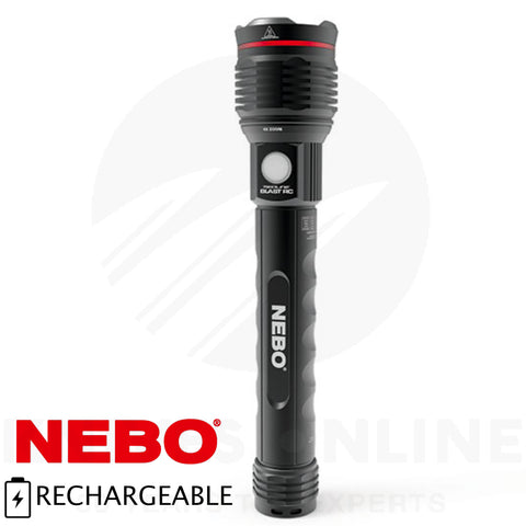 Nebo 3200 Blast Recharegable Flashlight