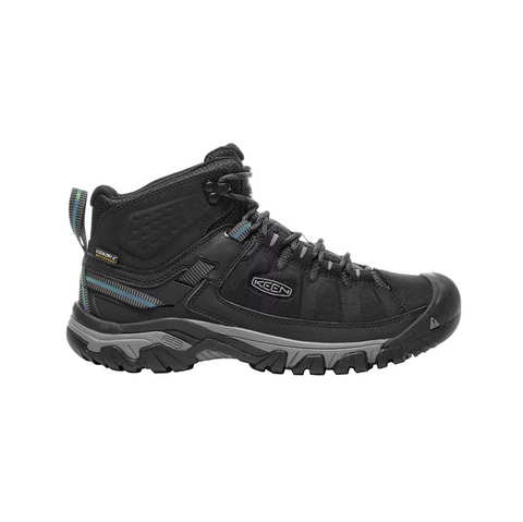 Keen Mens Targhee EXP Mid WP - Black/Steel Grey