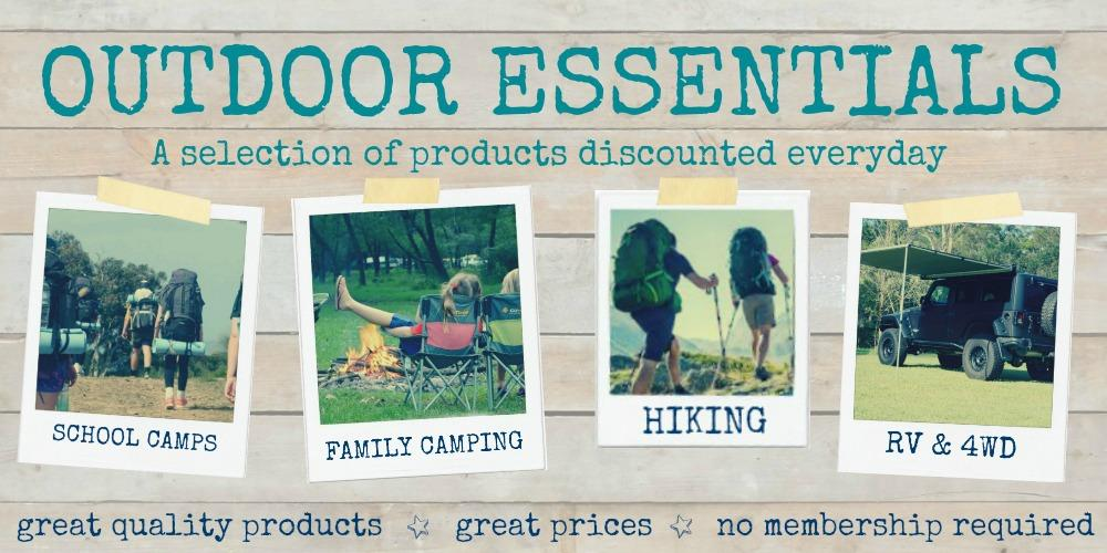 Outdoor Essentials Range