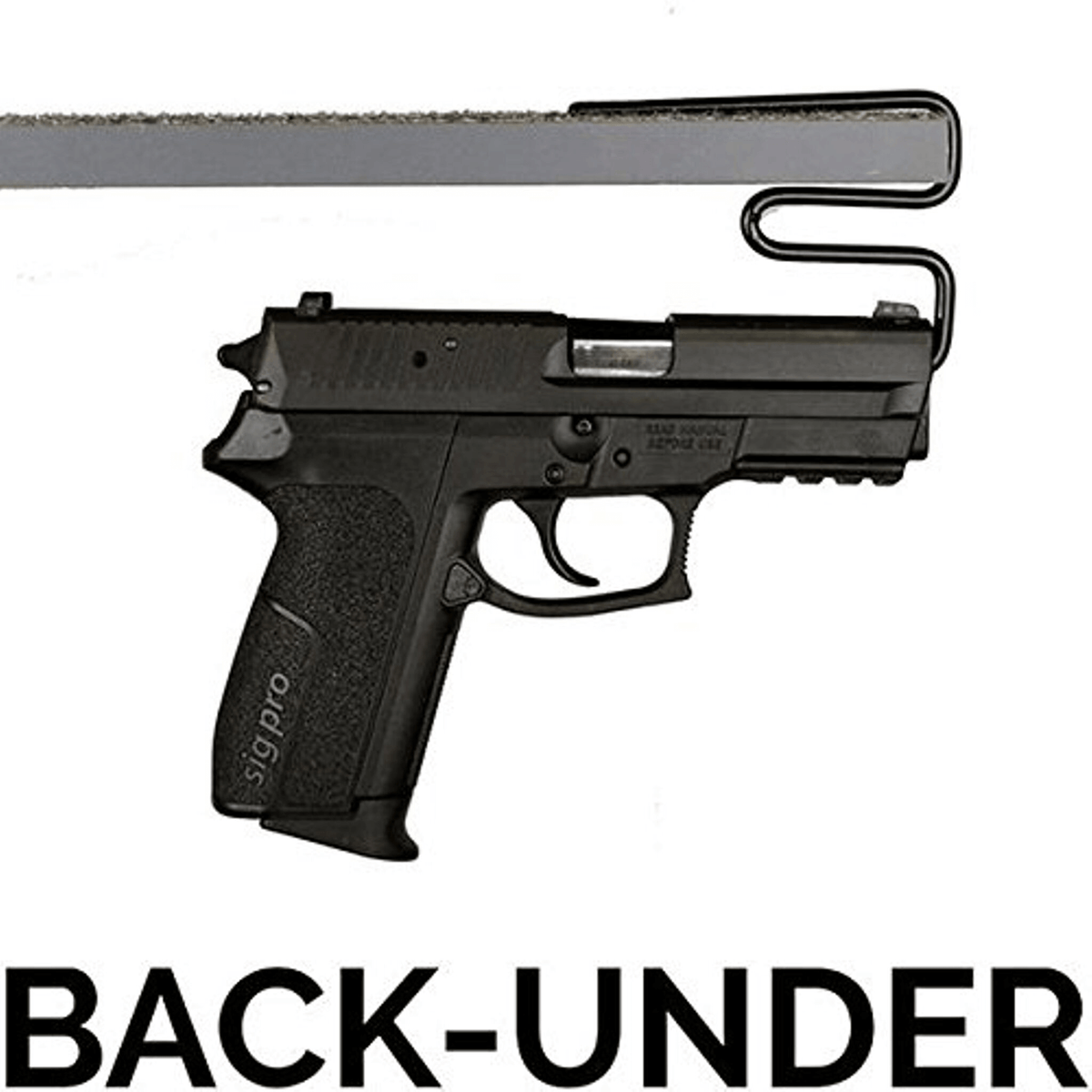 Accessory - Storage - Handgun Hanger - Back-Under - 2 pack
