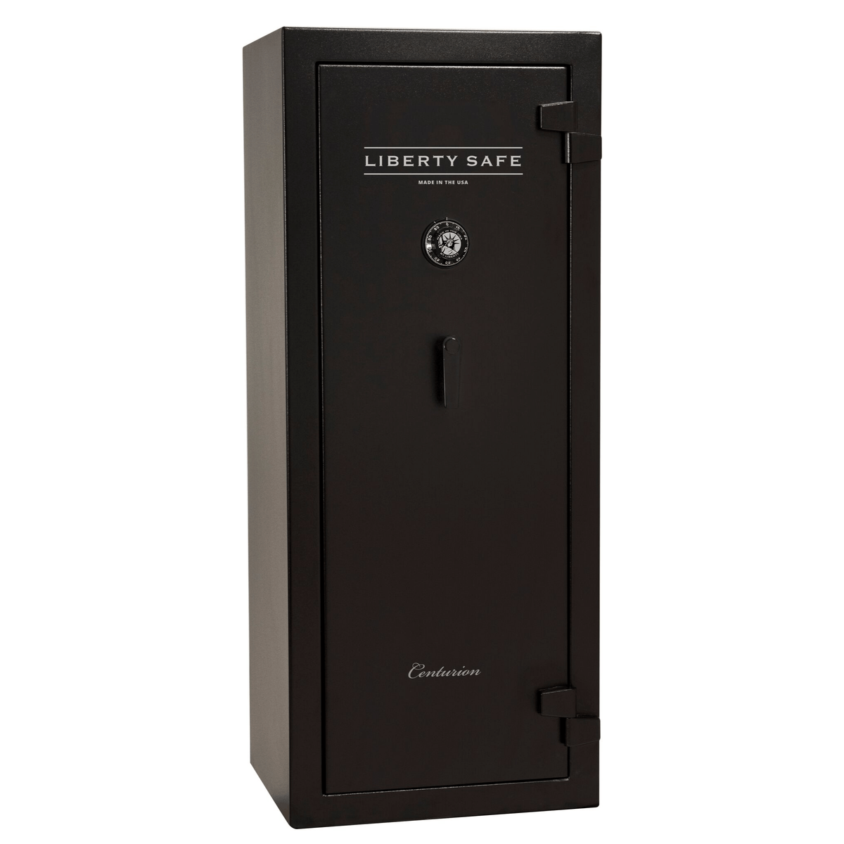 "Centurion | 18 | Level 1 Security | 30 Minute Fire Protection | Black | Black Mechanical Lock | 59.5""(H) x 24.25""(W) x 22""(D)"