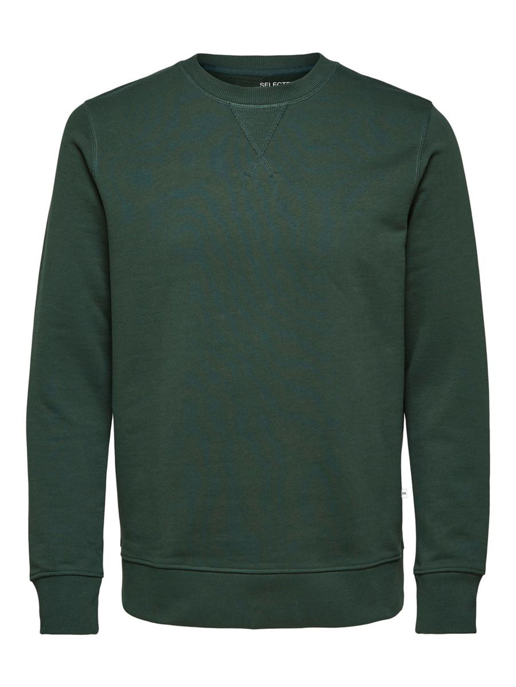 Selected JASON340 CREW NECK Green