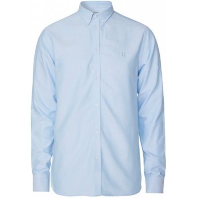 Christoph Oxford Shirt - Light Blue