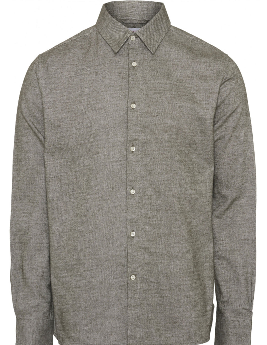 Larch casual fit heavy flannel shirt - Forrest Night