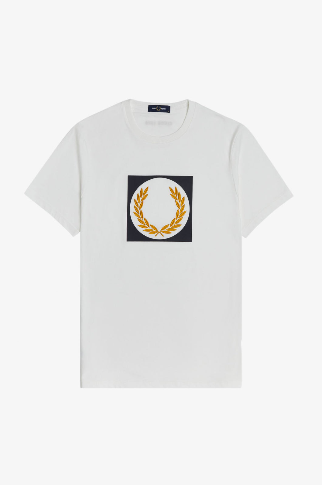 Fred Perry Laurel Wreath Graphic T-Shirt M1655 Snow White