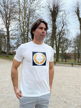 Indlæs billede til gallerivisning Fred Perry Laurel Wreath Graphic T-Shirt M1655 Snow White