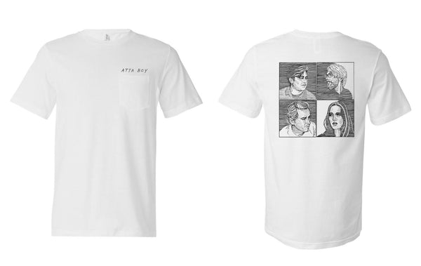 """Four Portrait"" Pocket Tee"