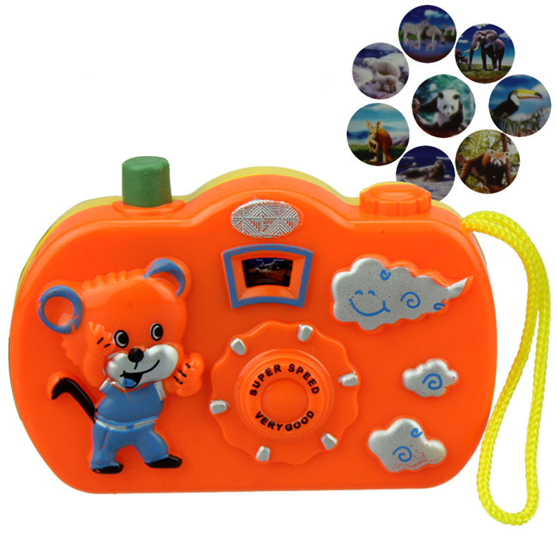 Light Projection Camera for Kids