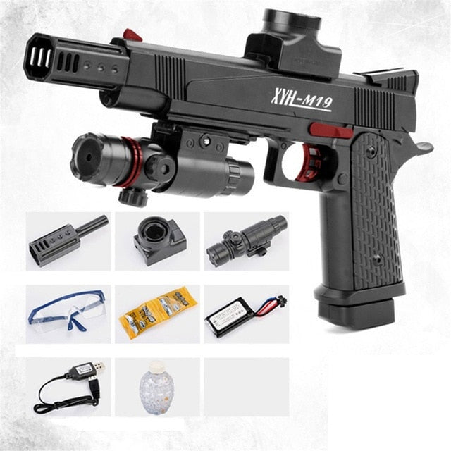 Electric Burst Water Bullet Toy Gun