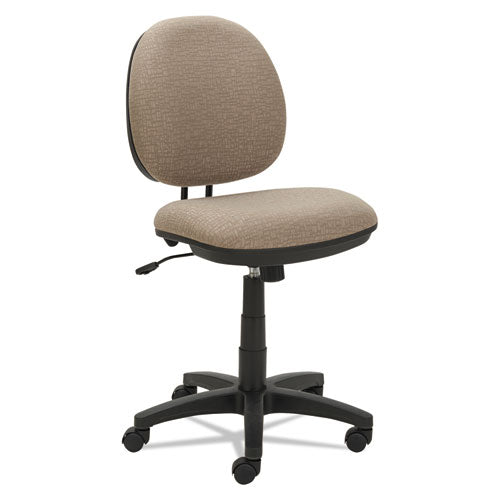 Alera Interval Series Swivel-tilt Task Chair, Supports Up To 275 Lbs, Black Seat-black Back, Black Base