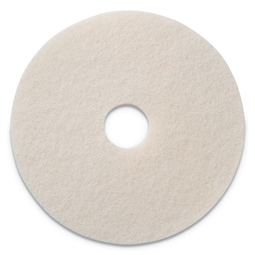 "Polishing Pads, 17"" Diameter, White, 5-ct"