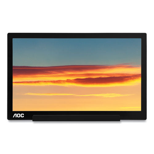"1601c Portable Lcd Monitor, 15.6"" Widescreen, Ips Panel, 1920 Pixels X 1080 Pixels"