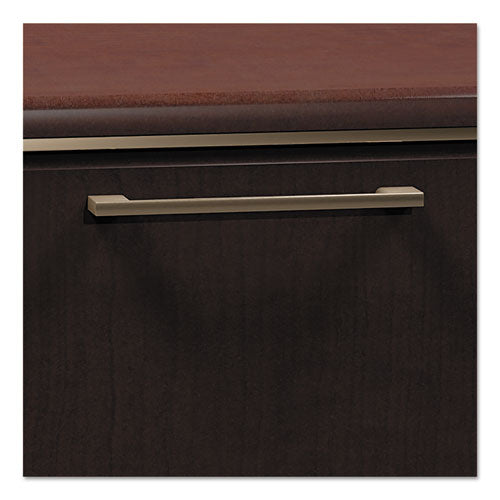 Enterprise Collection L-desk Surface Only, 60w X 60d X 29.75h, Mocha Cherry, Box 2 Of 2