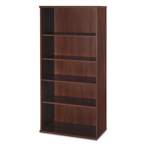 Series C Collection 36w 5 Shelf Bookcase, Hansen Cherry