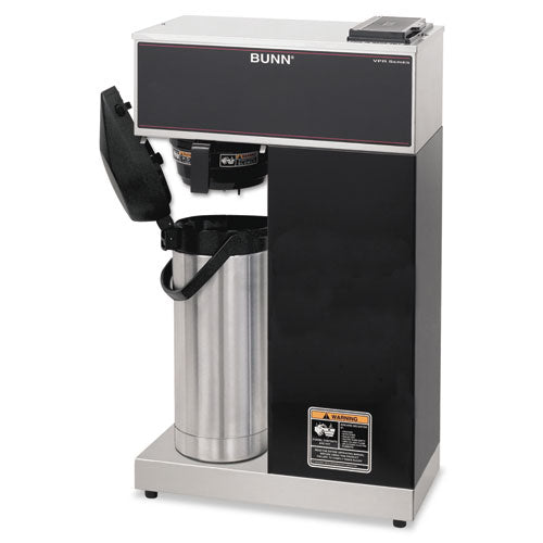 Vpr-aps Pourover Thermal Coffee Brewer With 2.2l Airpot, Stainless Steel, Black