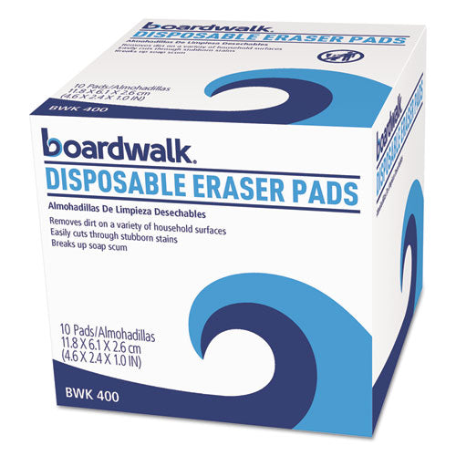 Disposable Eraser Pads, 10-box