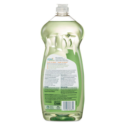 Manual Pot And Pan Dishwashing Liquid, 38 Oz Bottle, 8-carton