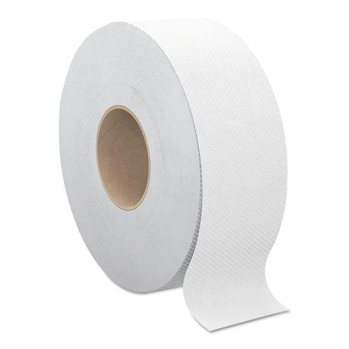 "Select Jumbo Bath Tissue, Septic Safe, 2-ply, White, 3.3"" X 500 Ft, 12 Rolls-carton"