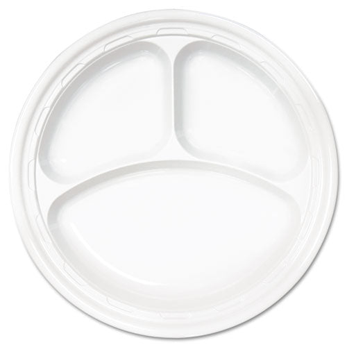 Plastic Bowls, 5-6 Ounces, White, Round, 125-pack