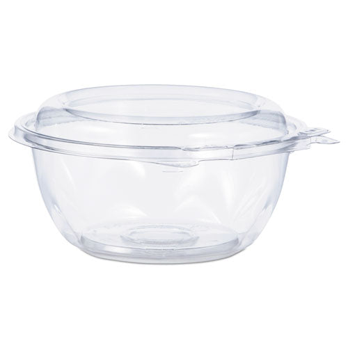 Tamper-resistant, Tamper-evident Bowls With Dome Lid, 12 Oz, Clear, 240-carton