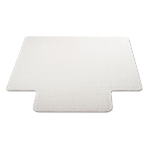 Duramat Moderate Use Chair Mat For Low Pile Carpet, 45 X 53, Wide Lipped, Clear