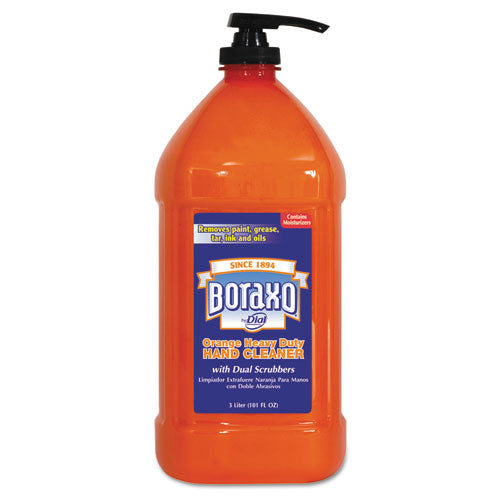 Orange Heavy Duty Hand Cleaner, 2 Liter Refill Bag, 4-ct