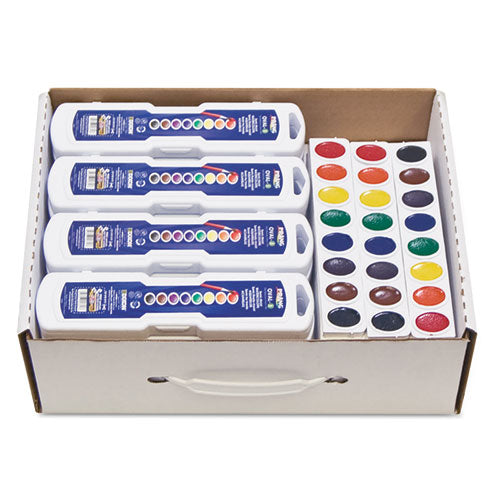 Professional Watercolors, 8 Assorted Colors,masterpack, 36-set