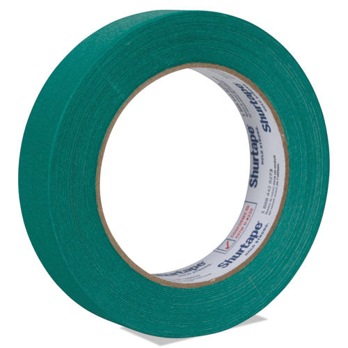 "Color Masking Tape, 3"" Core, 0.94"" X 60 Yds, Green"