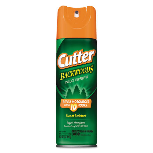 Cutter Backwoods Insect Repellent Spray, 6 Oz Aerosol