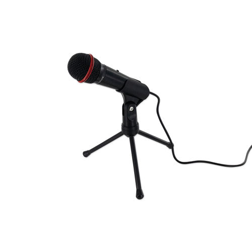 Social Media Kits, Microphone And Stand, Black