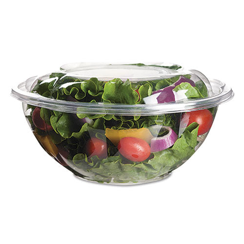 Renewable And Compostable Containers, 18 Oz, Clear, 150-carton