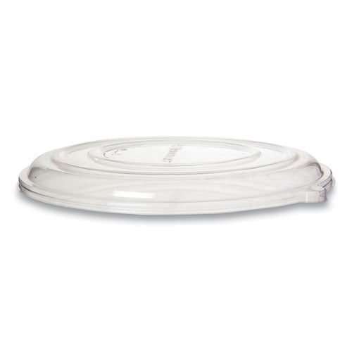100% Recycled Content Pizza Tray Lids, 14 X 14 X 0.2, Clear, 50-carton