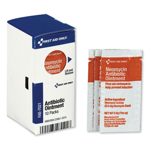 Smartcompliance Antibiotic Ointment, 10 Packets-box