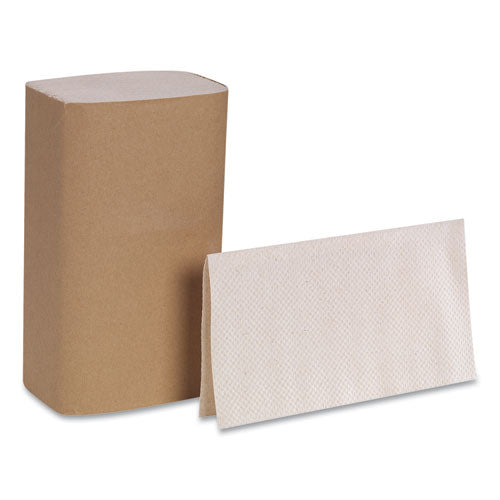 Pacific Blue Basic S-fold Paper Towels, 10 1-4x9 1-4, Brown, 250-pack, 16 Pk-ct