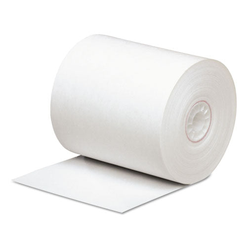 "Direct Thermal Printing Paper Rolls, 0.45"" Core, 3.13"" X 290 Ft, White, 50-carton"