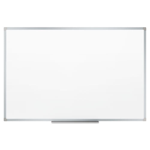 Dry-erase Board, Melamine Surface, 48 X 36, Silver Aluminum Frame