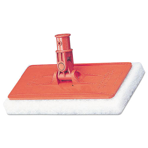 Doodlebug Threaded Pad Holder Kit, For 4 5-8 X 10 Pads, Orange, 4-carton