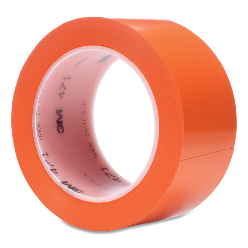 "Vinyl Floor Marking Tape 471, 2"" X 36 Yds, Orange"